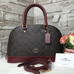 👜COACH🌺MINI SIERRA SATCHEL 10 1/4""